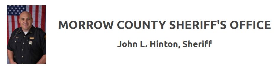 Sheriff Sales | Morrow County Sheriff